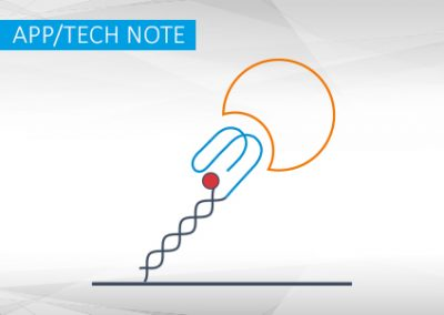 A new biosensor-based assay for aptamer-protein interaction analysis I App Note