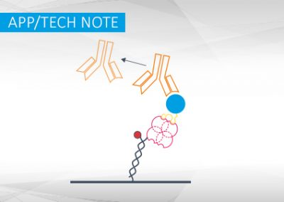 High-affinity capturing of tagged proteins on the switchSENSE® biochip using Strep-Tactin®XT