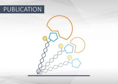 Messung molekularer Interaktion mit dynamischen Oberflächensensoren