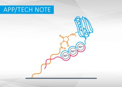 Site-specific covalent conjugation and purification of His-tagged proteins to DNA for switchSENSE® applications I App Note